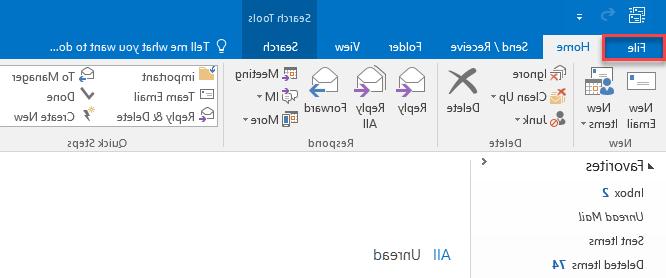 Comment paramétrer Outlook 2019 ?