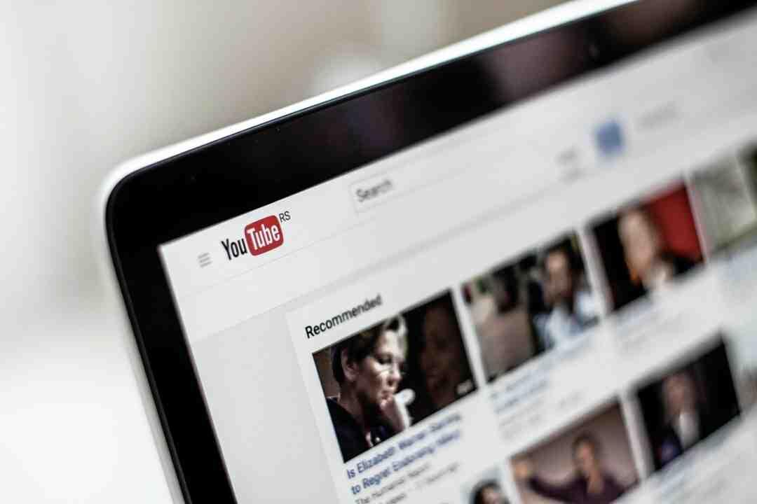 Comment réinitialiser youtube