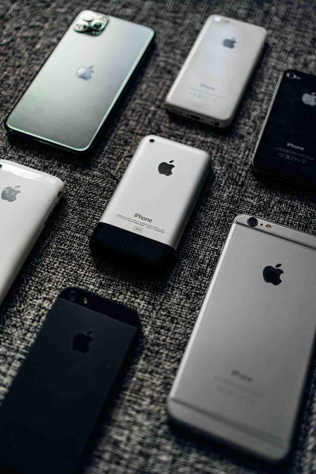 Comment savoir quel iphone on a